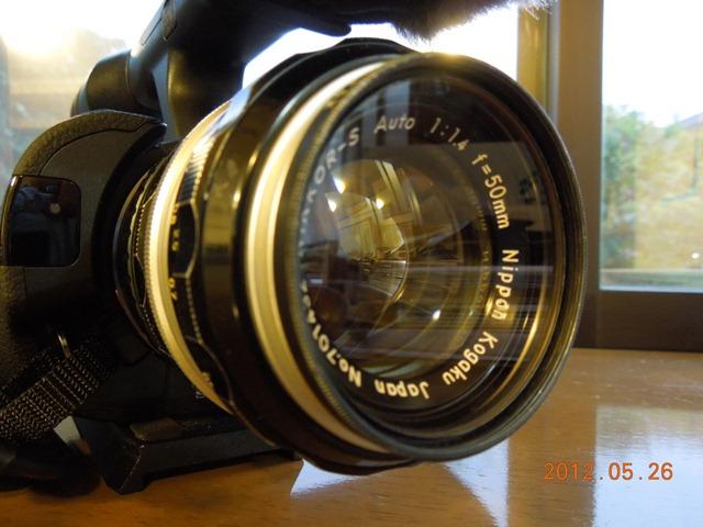 NIKKOR-S Auto F 1.4 50mmとNEX-VG20