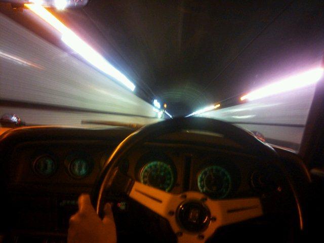 ルーチェ関越トンネルを走る
