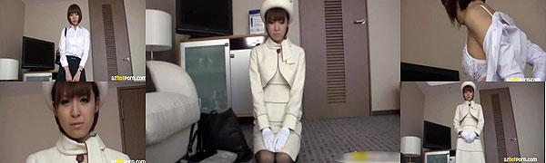 受付嬢の制服フェチ