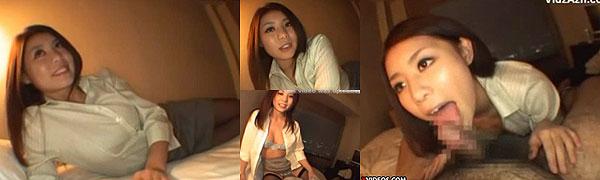 ブラウスお姉さんのエロ動画