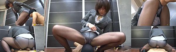 OL尻コキ動画
