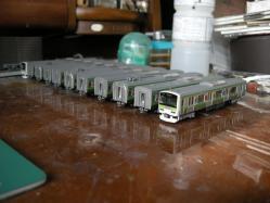 例の広告列車