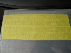 水玉模様のマスキングテープ