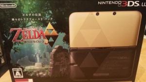 ゼルダの伝説 神々のトライフォース2 3DSLL同梱版