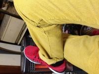 靴とジーパン
