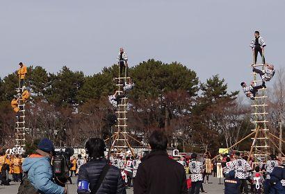 駿府城公園消防出初式-1
