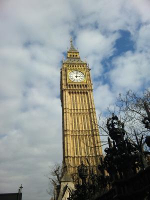 03 2012 ロンドン 時計塔の愛称 『ビック・ベン』