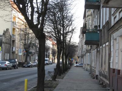 ポ) 街の風景