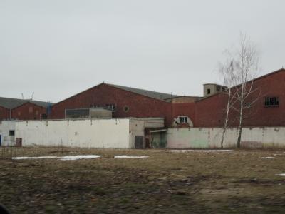 ポーランドの工業団地内