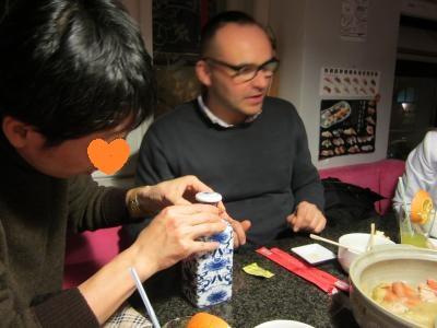 03 2013 寿司バーで鍋パーティー