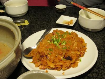 03 2013 寿司バーで鍋パーティー (ビゴス)