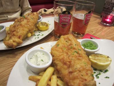 03 2013 ロンドン Fish & Chips