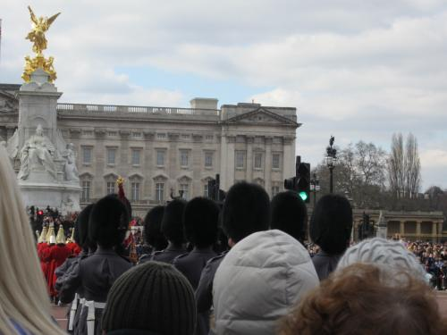 2013 ロンドン バッキンガム宮殿 衛兵の交代式