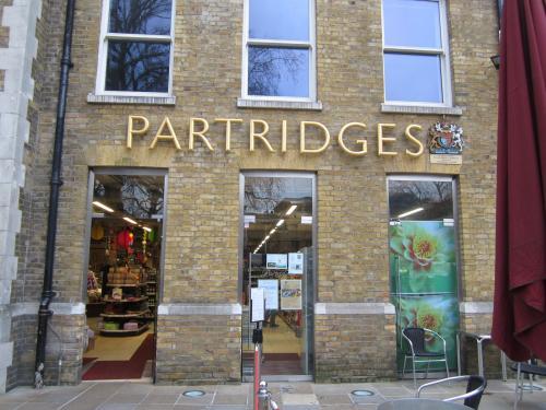 03 2013 ロンドン 『PARTRIDGES』