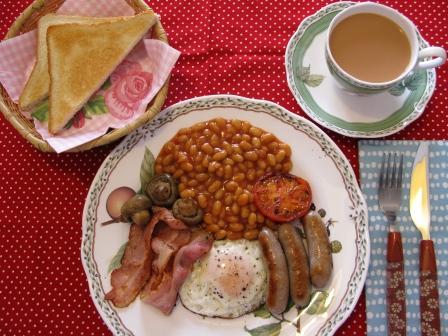 イングリッシュ朝食