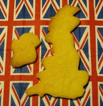 地図クッキー
