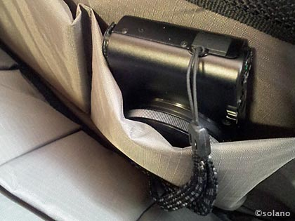 テンバP415 、収納ポケット