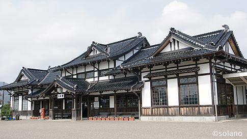 大社駅、至高の和風木造駅舎