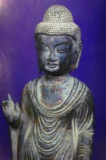 2013-01-30_Korea-South_対馬の盗難仏像、韓国に 日本政府が捜査要請01_海神神社の「銅造如来立像」