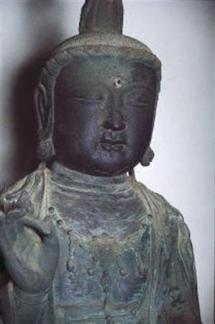 2013-01-30_Korea-South_対馬の盗難仏像、韓国に 日本政府が捜査要請02_観音寺の「観世音菩薩坐像」