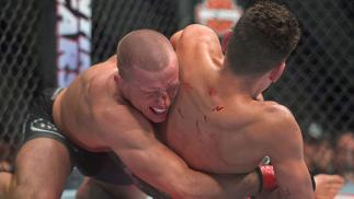 UFC 158 Nick Diaz vs Georges St-Pierre19