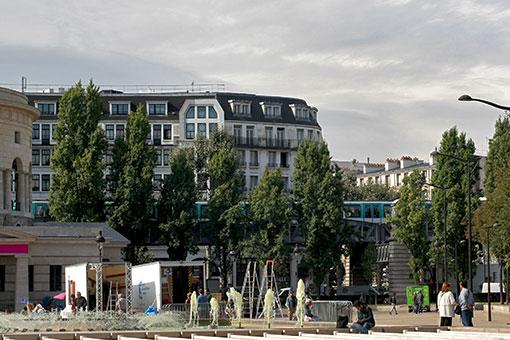 パリのメトロ