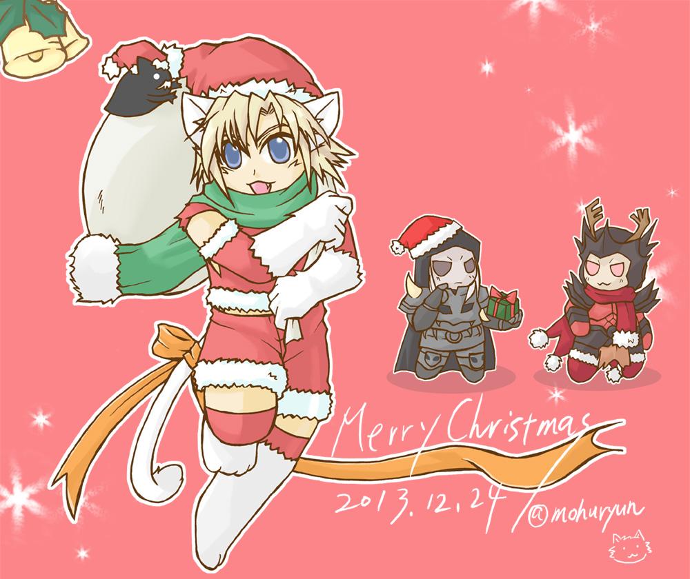 CHOクリスマスショタにゃん+おまけブログ用