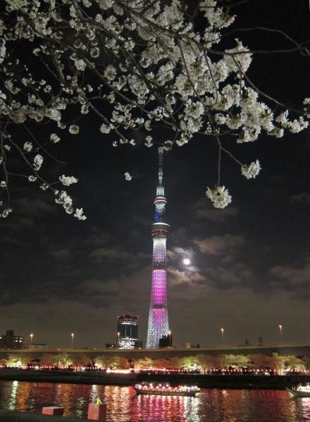 東京スカイツリー・ライトアップ29
