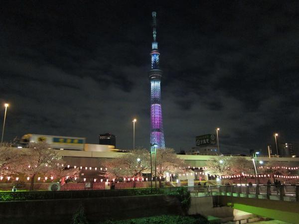 東京スカイツリー・ライトアップ30