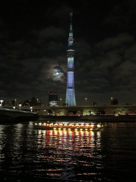 東京スカイツリー・ライトアップ31