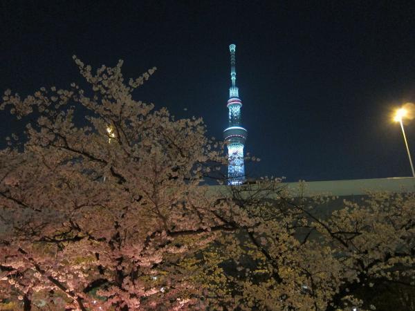 東京スカイツリー・ライトアップ32