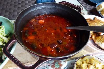 ビーつのスープ