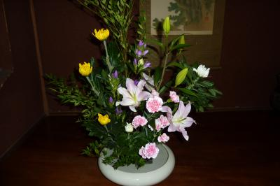 敬老の日のお花