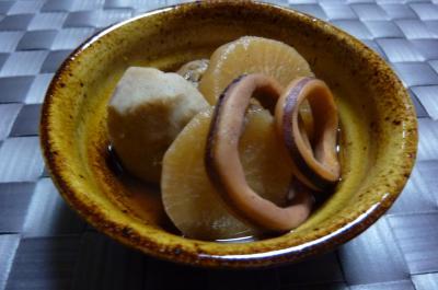 烏賊と里芋の煮物