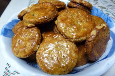 くるみの黒糖クッキー