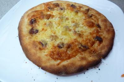 アンチョビのピザ