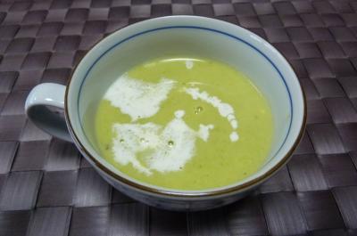エンドウのスープ