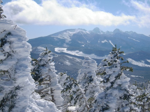 八ヶ岳南部の山々