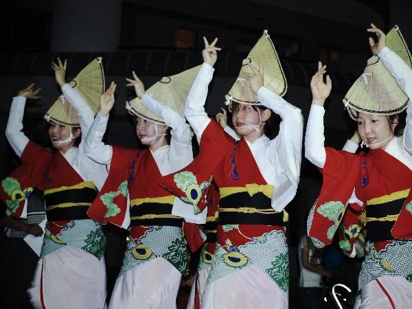 四国中央市 三島 ナイトバザール 阿波踊り