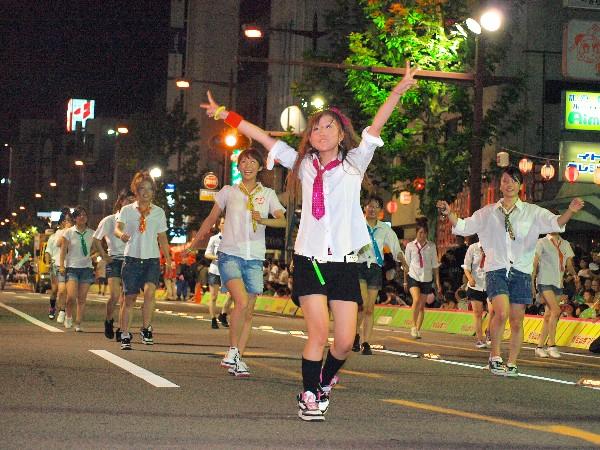 松山市 松山祭り 野球サンバ