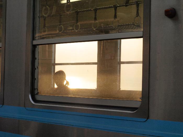 伊予・JR下灘駅 夕焼けプラットホームコンサート