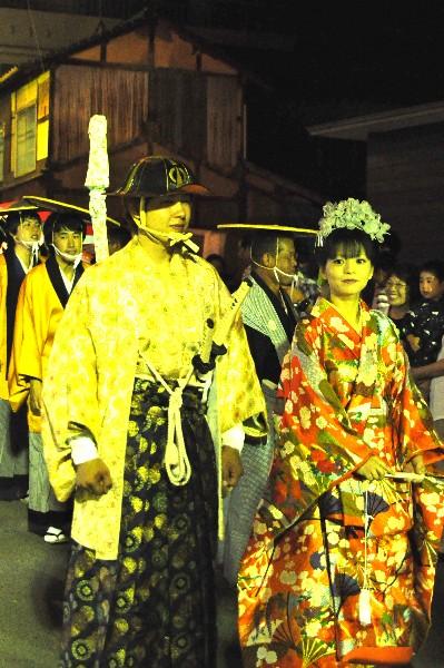 西条市小松町 ふるさと祭り 大名行列