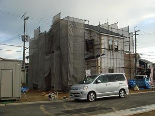 ●最新現場報告!=『ダブル発電』の家(泉南市樽井)