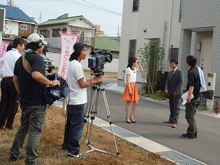 ★初体験!→テレビ局の取材がありました!!