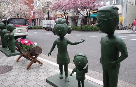 銅像・ますお