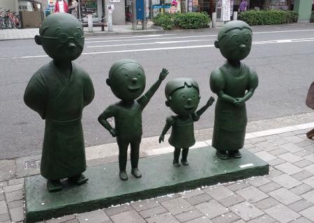 銅像・なみへい
