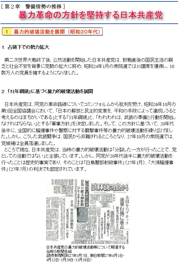 日本共産党の歴史1