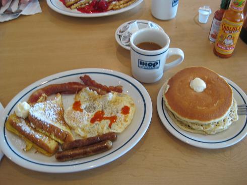 xmas pancake