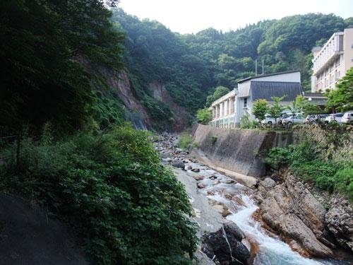 山水荘さん近くの景色