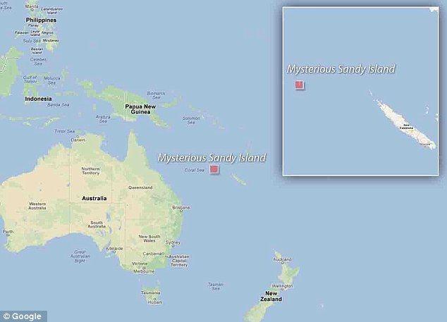 サンディ島 地図